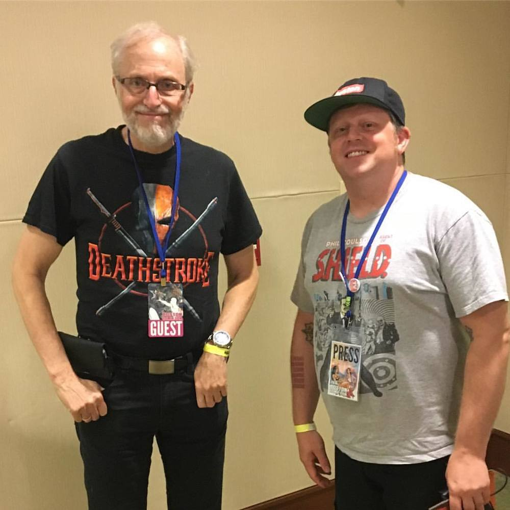 Clay nerds it up with Marv Wolfman!