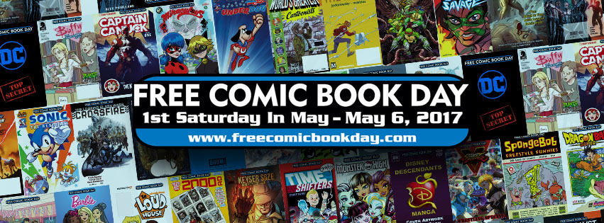 Click on the image above to go to the Free Comic Book Day site for a list of all the free books available this Saturday!