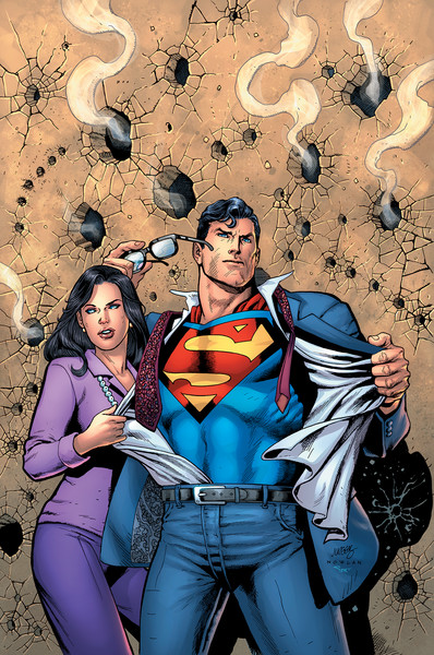 1990's ACTION COMICS #1000 variant cover by Dan Jurgens and Kevin Nowlan.