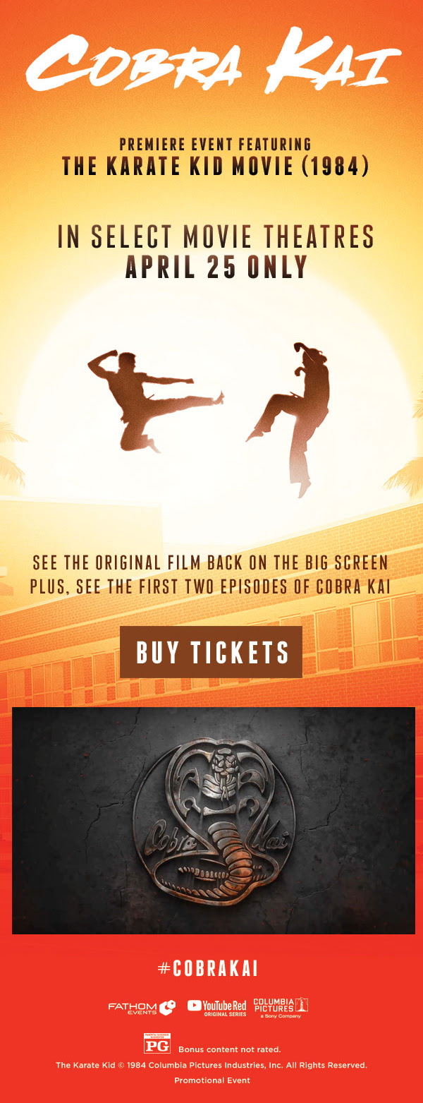 Cobra Kai Premiere feat. Karate Kid