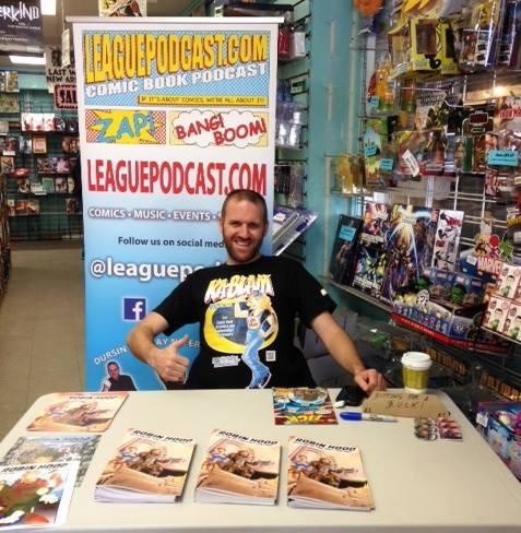 Matt Dursin Signing at his Prime New England Comics. (Primes are relative).