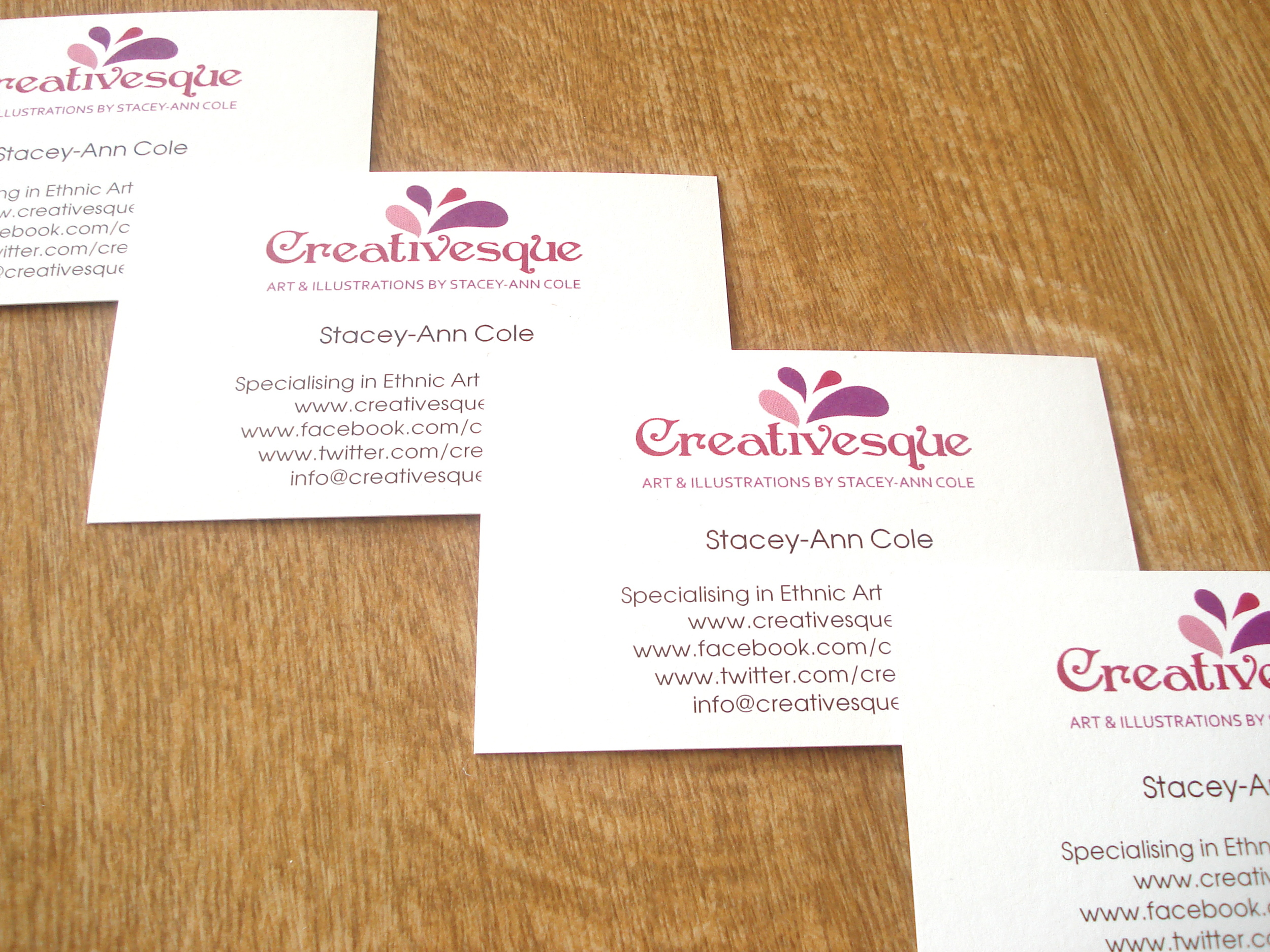 Creativesque Business Cards