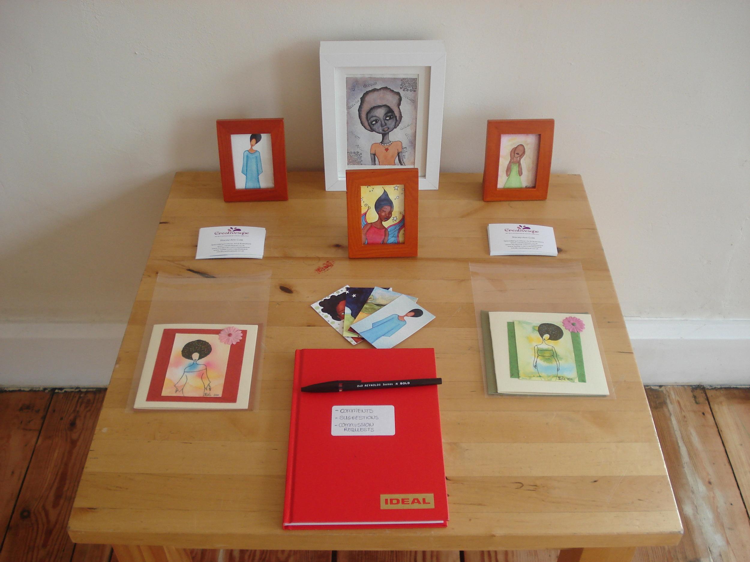 Creativesque Display Table