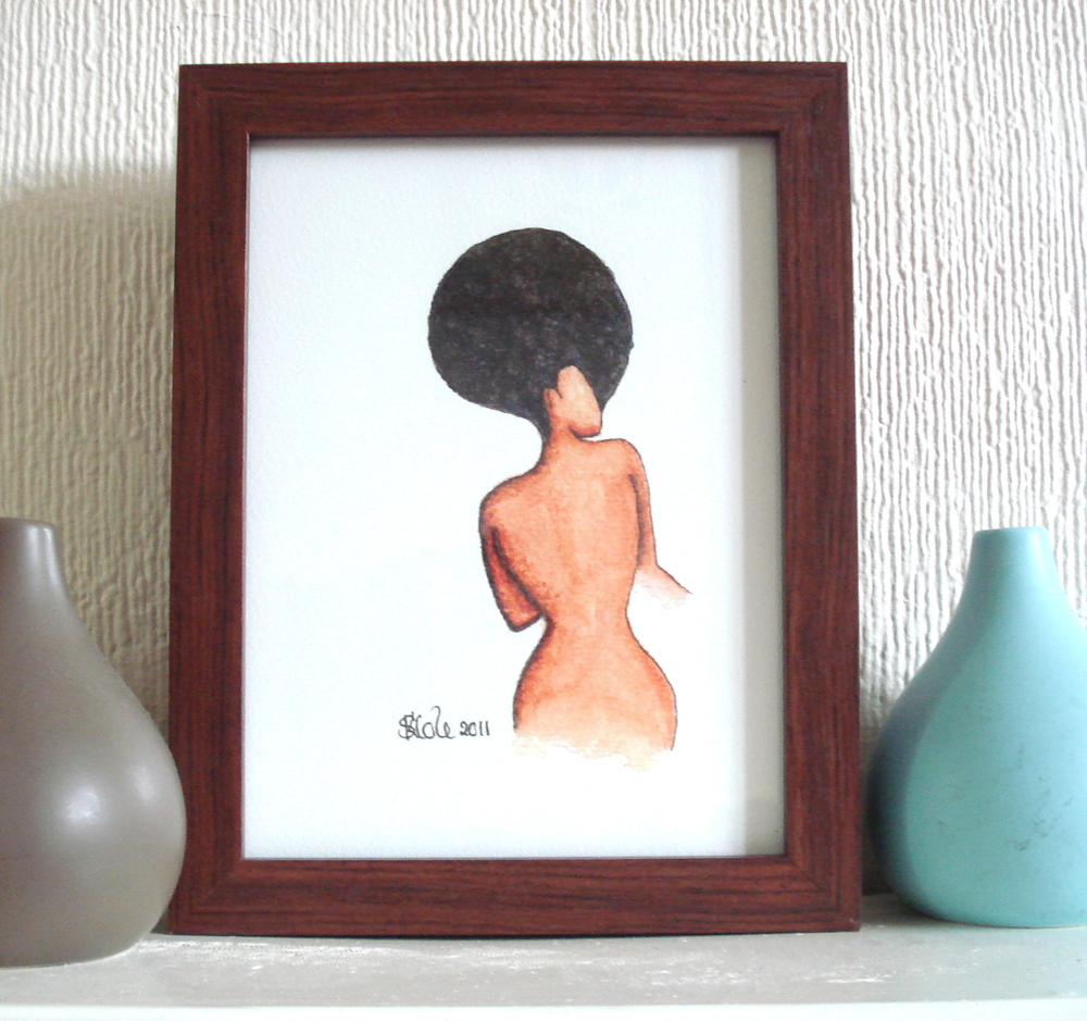 Curvaceous Artwork Print by Stacey-Ann Cole