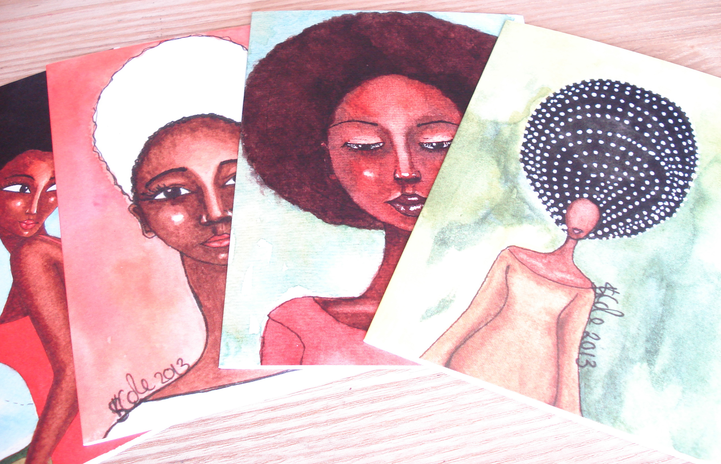 New Greeting Cards © Stacey-Ann Cole 2013