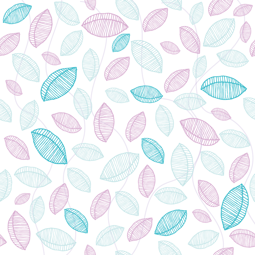 Scattered Leaves Surface Pattern Design © Stacey-Ann Cole 2015