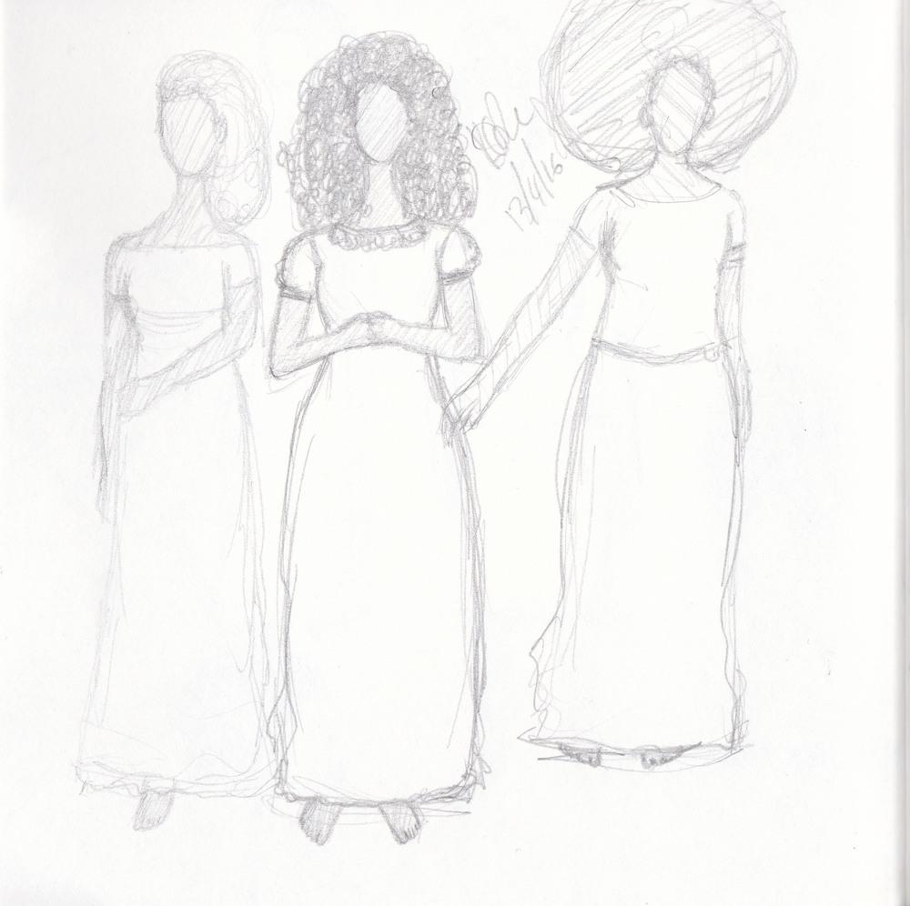 Artist Sketchbook Page, April 2016