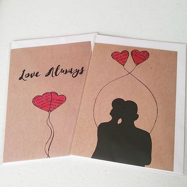 Hey, I just wanted to let you guys know that starting on the 15th February 2018, I will be raising the prices of my greeting cards to GBP£2.50 each.  So if you've been thinking about stocking up or buying Valentine's cards for your loves, then sooner rather than later is best. Thank you!  #cards #greetingcards #valentinesdaycards #valentinesday #valentines #love #lovealways #entwined