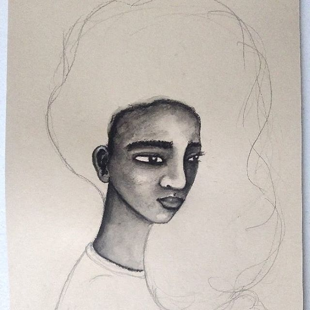 I just shared these WIP art pieces on my FB page so I thought I'd share here too. Instagram has cropped them a bit but its no problem. If you'd like to see the full images you can head over to my page to check them out and read my thoughts on the progress of each piece.  Link is in my bio  #artistsofinstagram #art #africanamericanart #afrocentric #afro #afrohair #afroart #naturalhairart #naturalhair #originalart #doitfortheprocess #africanamerican #representationmatters #multicultural #diversity #blackartists #blackart #blackgirlmagic #blackbritishart #painting #drawing