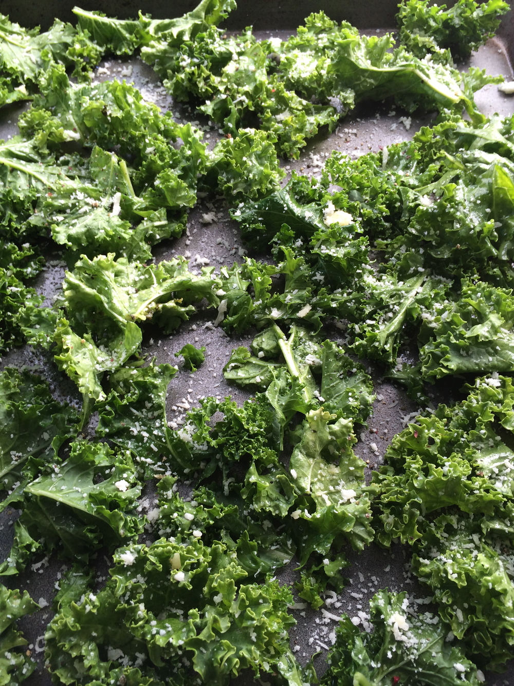 kale ready for cooking