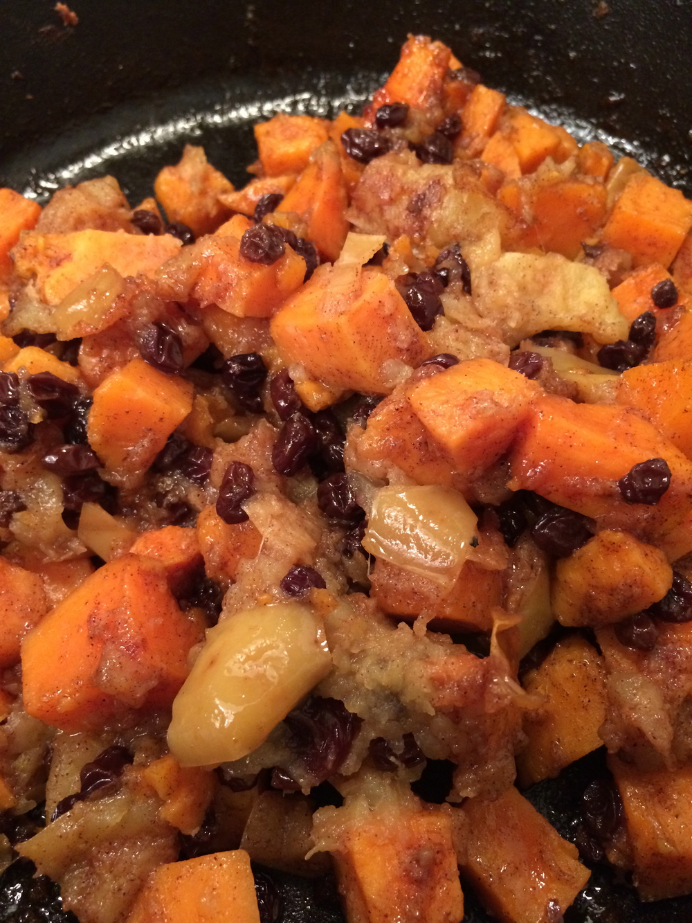 Baked Spiced Sweet Potatoes and Apples