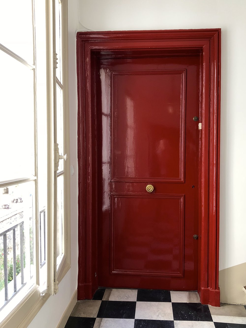 Door into the apartment