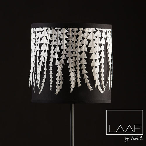 Lamp shade shop laaf by leah c leah c couture millinery laafls04black vineslogog aloadofball Choice Image