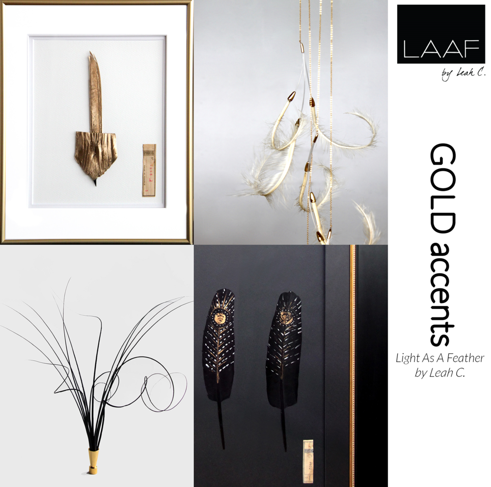 LAAF by Leah C. GOLD ACCENTS