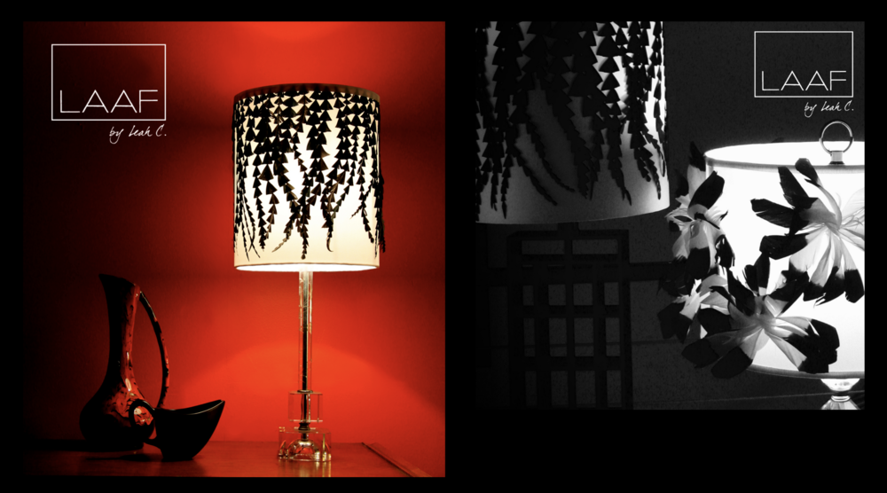 LAAF LS03 & LS06: Purchase via our lampshade shop tab!