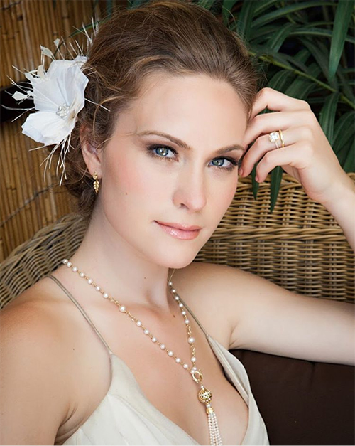 Leah C Signature Bridal Tailored Feather Flowers Laaf By Leah C Leah C Couture Millinery