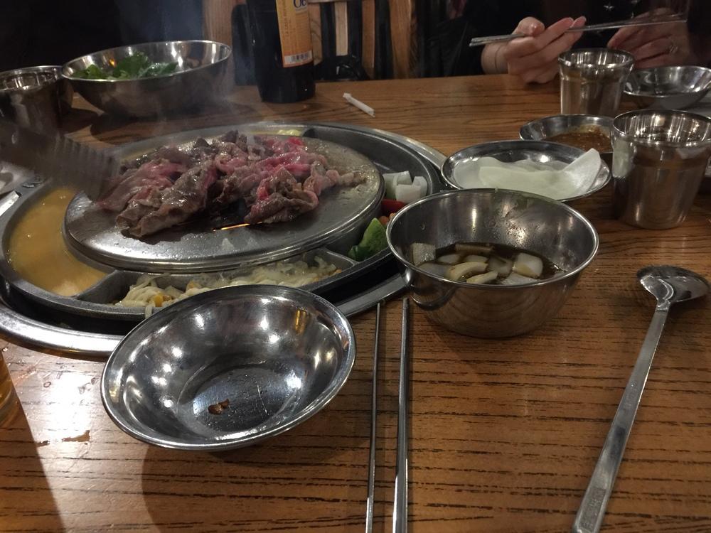 BBQ Bulgogi beef