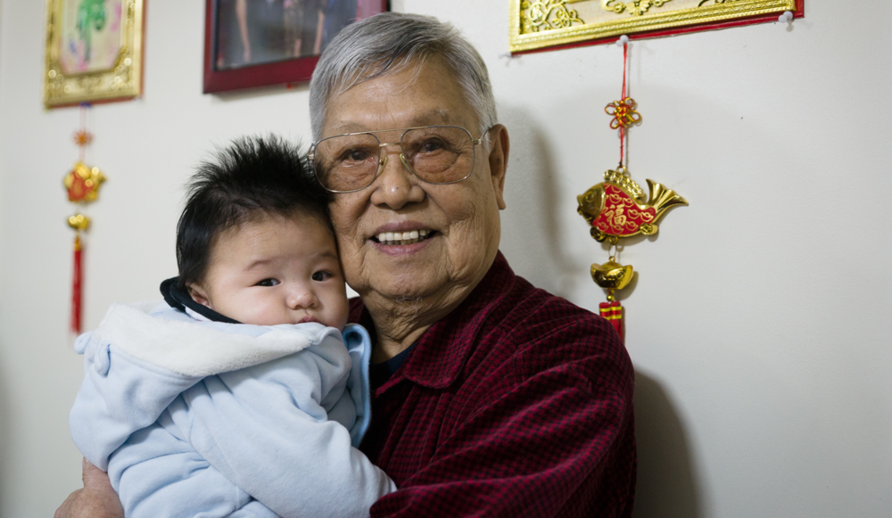 Grandpa Guan and Phil. Rest in peace, my beloved grand-daddy.