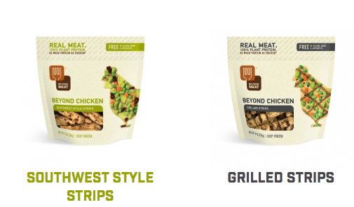 Image is a screenshot taken from beyondmeat.com