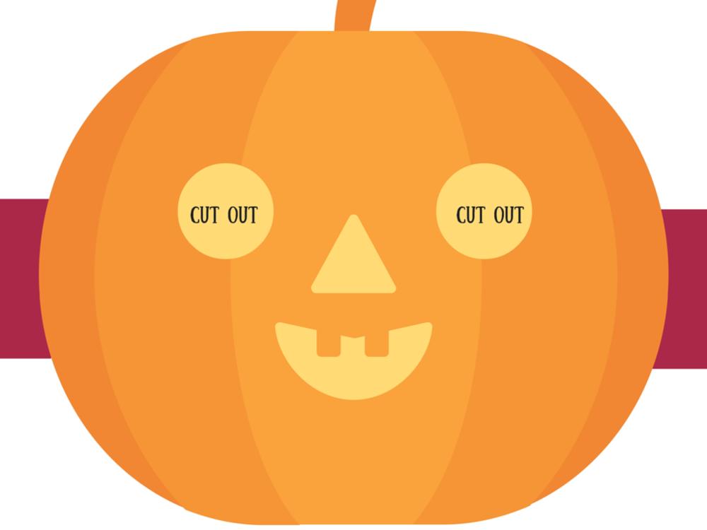 halloween face mask templates - free printable diy halloween face masks double as