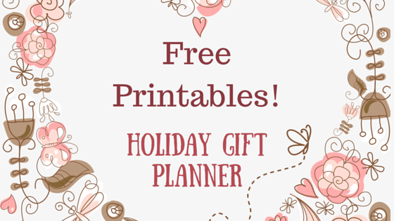 download here free printable holiday gift planner worksheets for family friends and coworkers