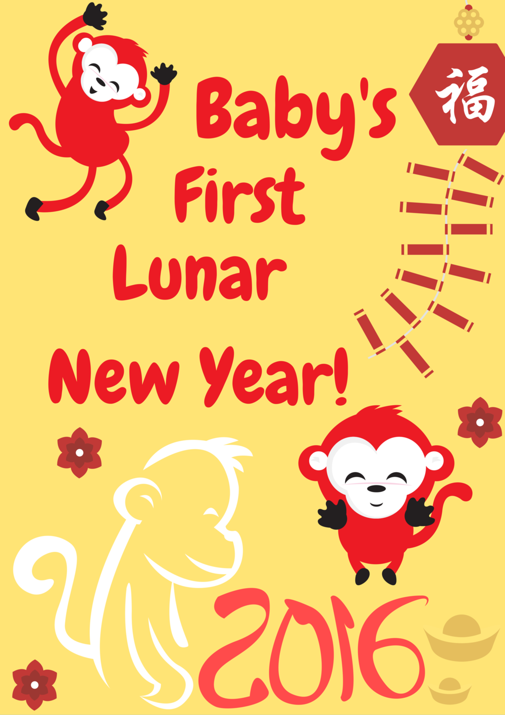 Baby's First Lunar New Year!