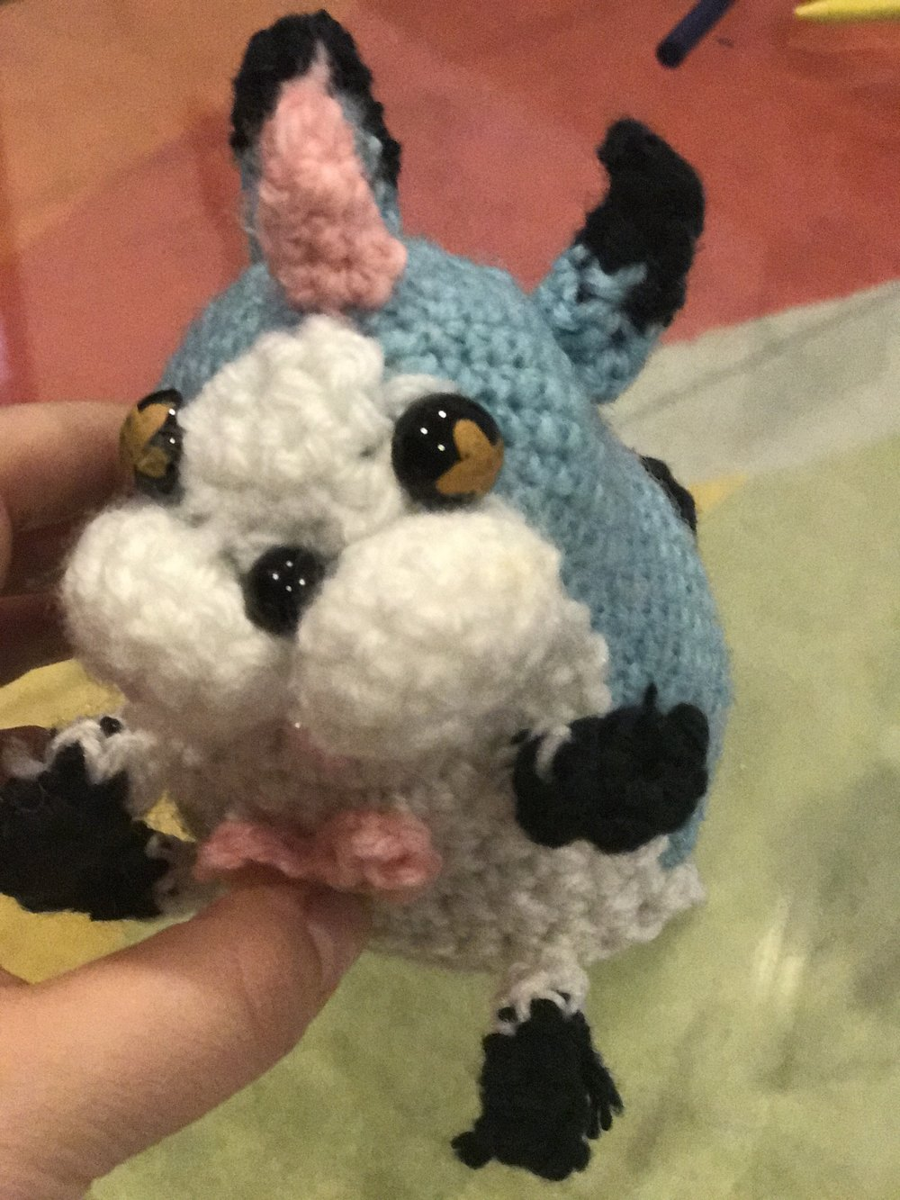 wonder nyan amigurumi crochet- made this from scratch