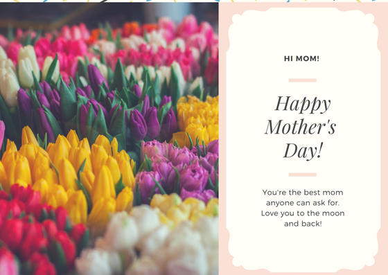 Right-click to save-as this e-card image. Hi Mom, happy mother's day!