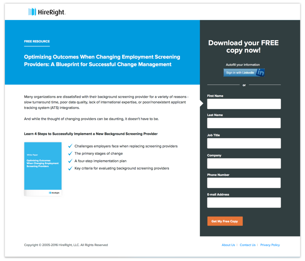 Download Resource Landing Page