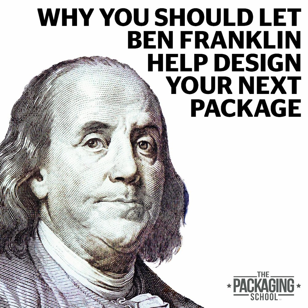 Benjamin Franklin Favors Packaging