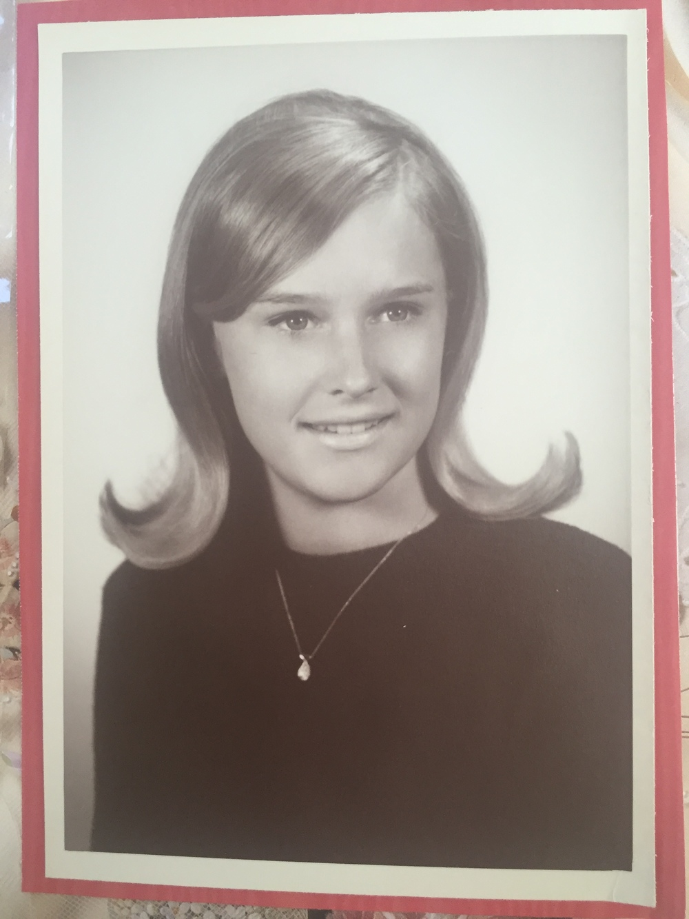 Debbie Clifford in 1968, age 18