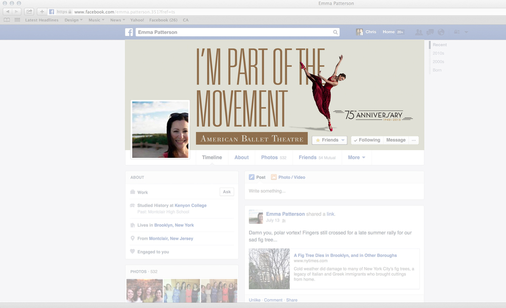 We made ABT supporters and donors Part of the Movement using this downloadable Facebook wallpaper image.
