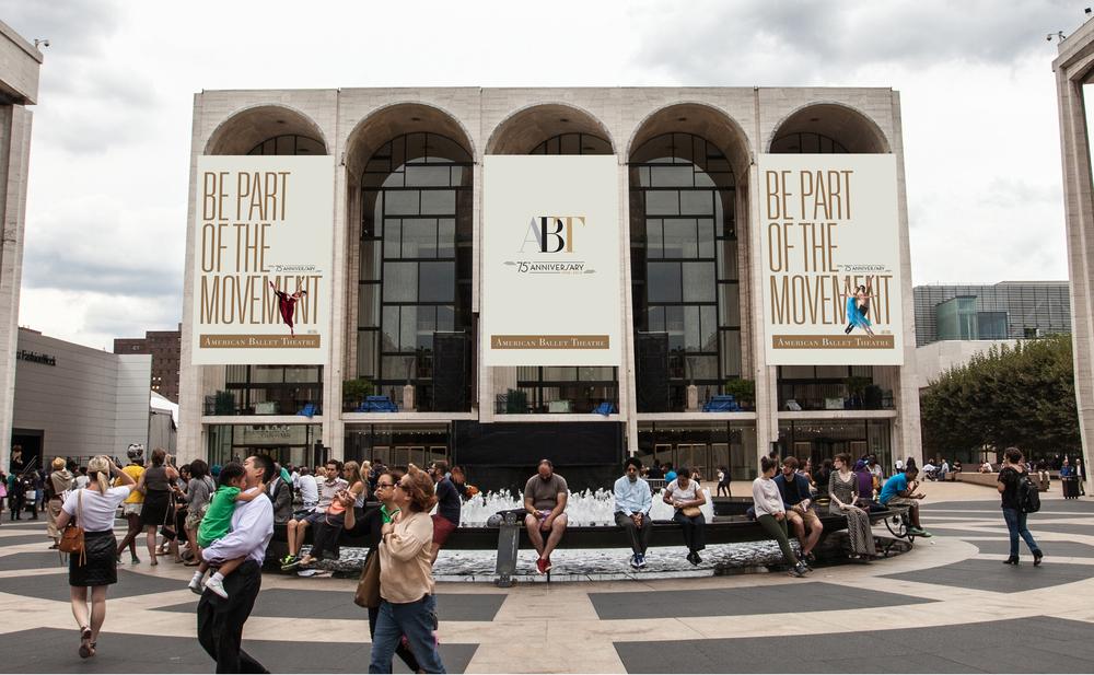 Banners at the Metropolitan Opera House