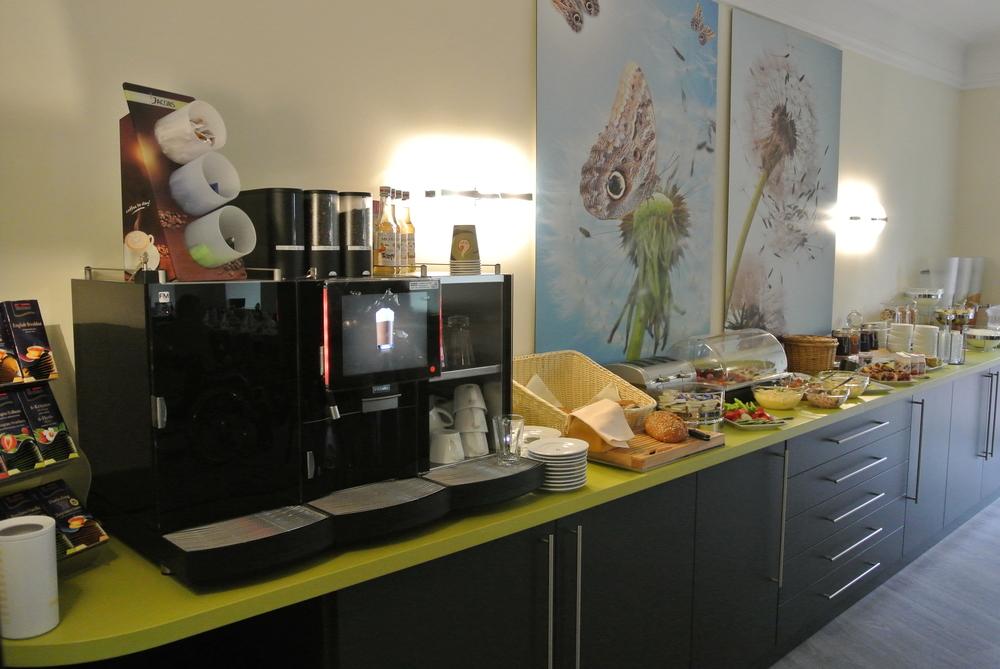 Frühstücks-Büfett immer lecker im PARKHOTEL Bad Rehburg