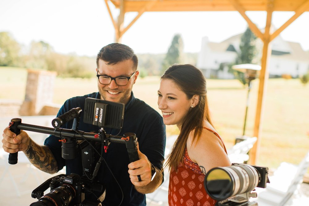 - Hayden & AlyssaWe were married in May of 2014 and moved to Knoxville shortly after. We started filming weddings together when we were dating, in 2012. Shooting together is something we get a lot of joy from. Not only is it just a very fun environment, but being there and experiencing the day brings back memories of our own wedding day. Taking part in preserving the day is something we're very passionate about.