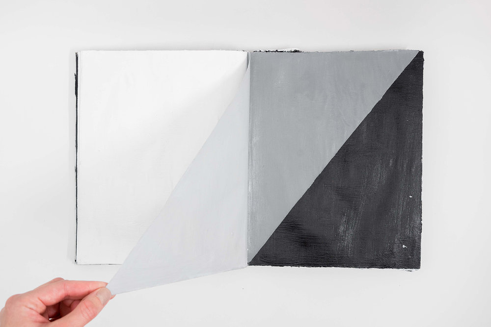 My First Monograph (Black Book), 2017