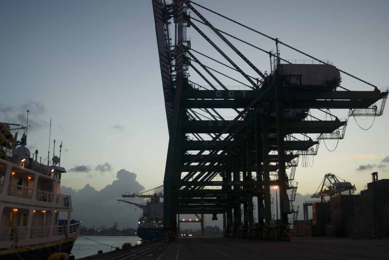 CCT container dock