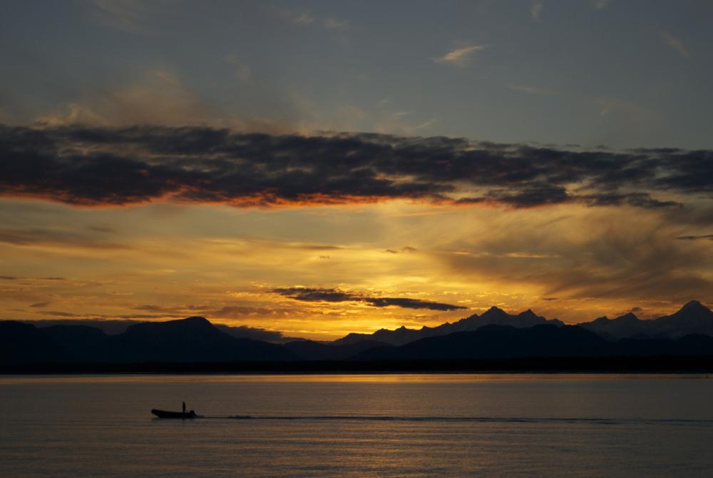 Sunset, September 8