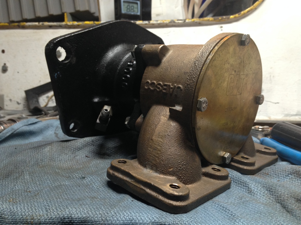 This is a raw water pump for one of our generators