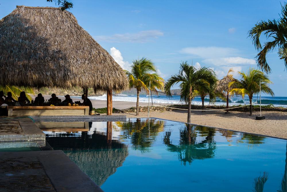 Hacienda Iguana Beach Club and Bar.