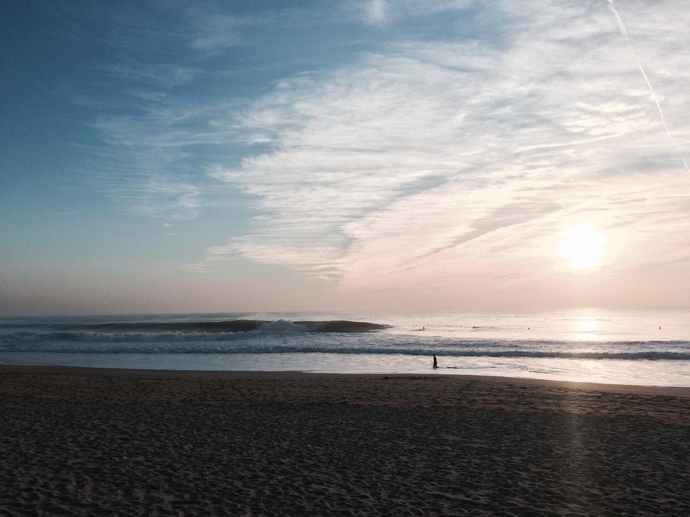 Post surf iPhone photo