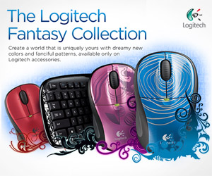 Logitech Fantasy Collection  ROLE: Designer, Illustrator