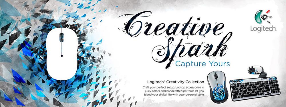 Logitech Creative Spark  ROLE: Illustrator, Production