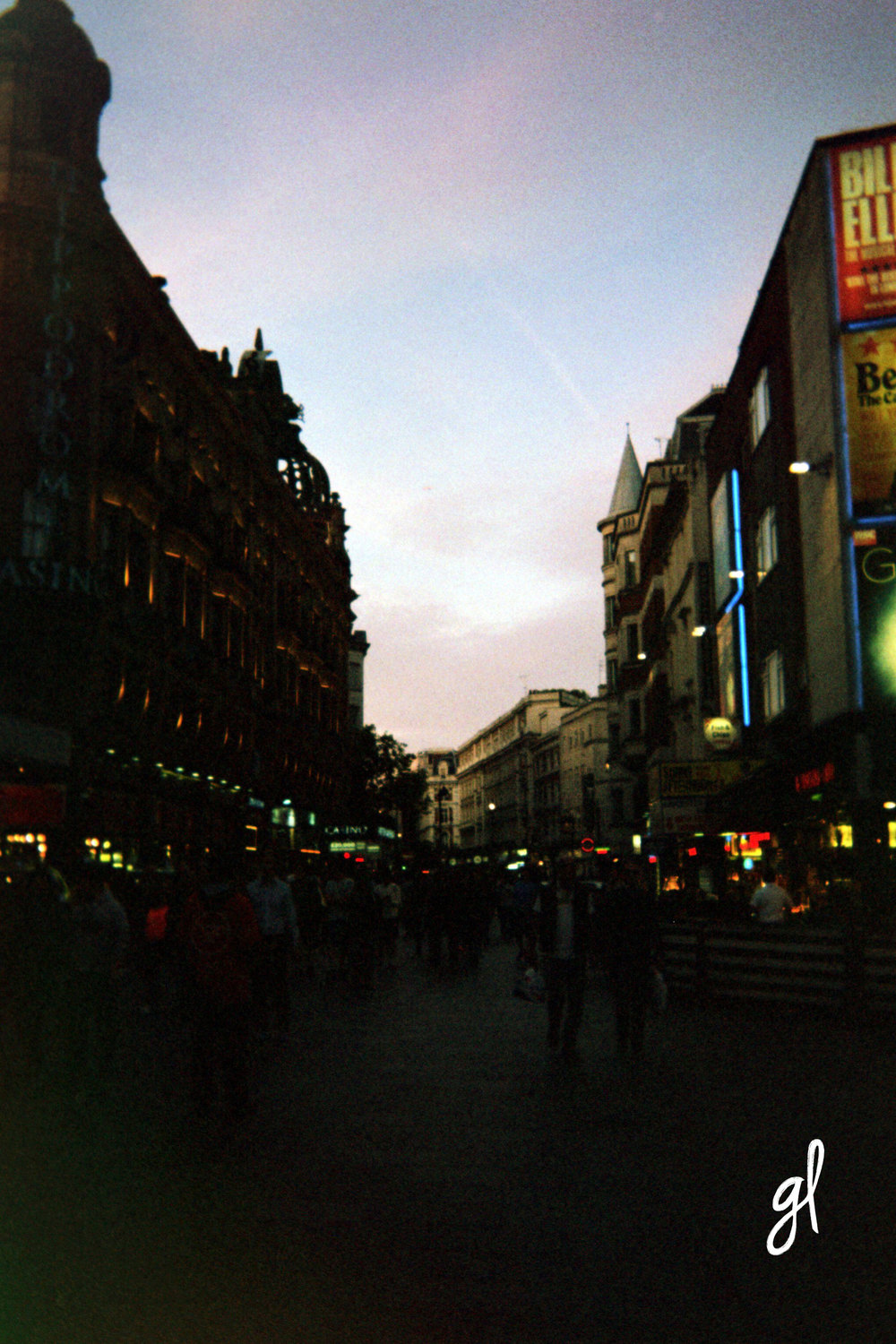 Leicester Square, Soho, London
