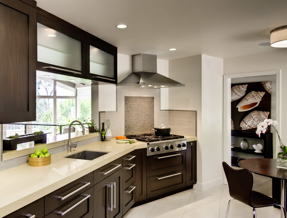 Contemporary Modernist Kitchen, Los Altos, CA Photographed for Rutt of Los altos and Rutt Hancrafted Cabinetry