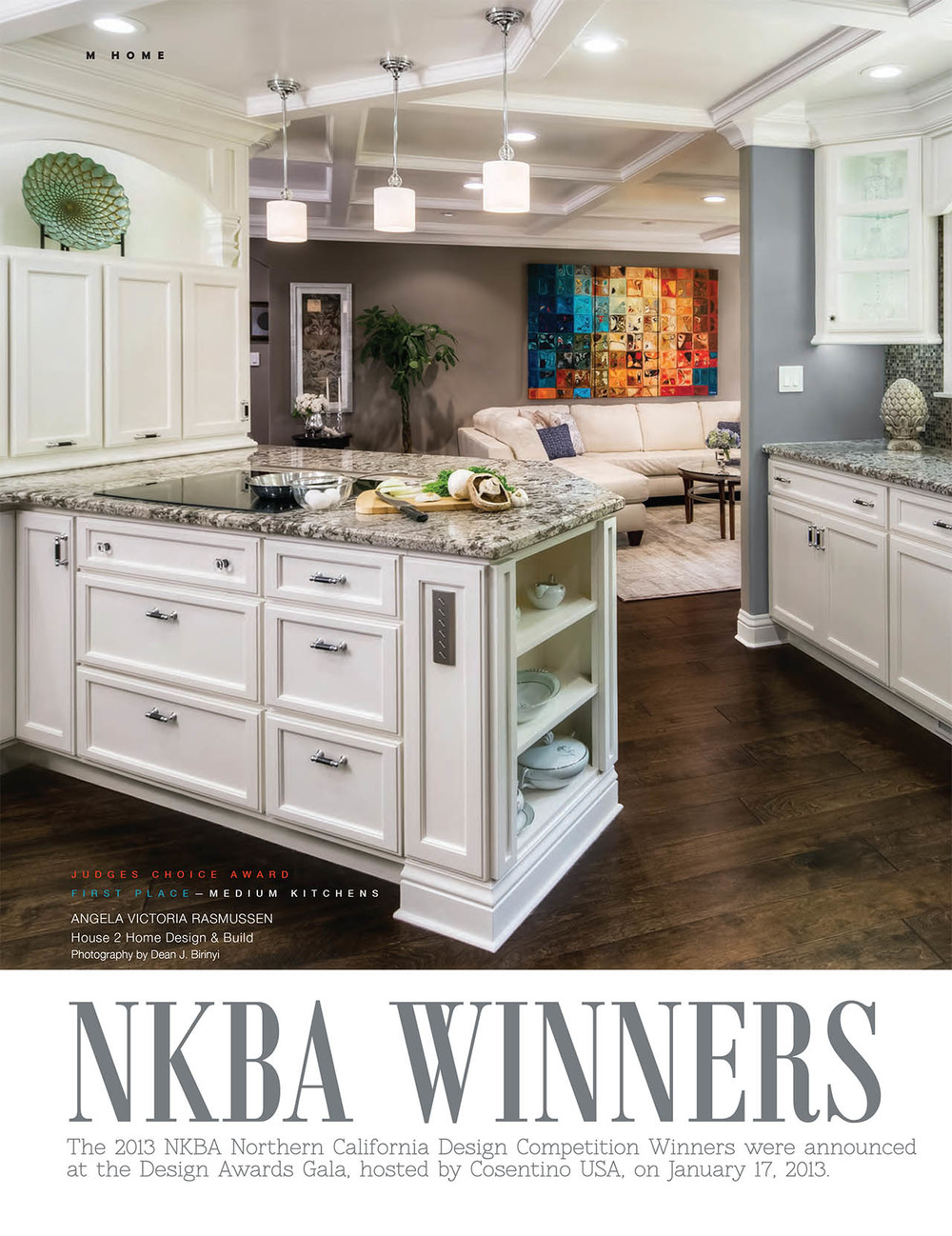 NKBA Award Winners in M Magazine North - House 2 Home Design Build