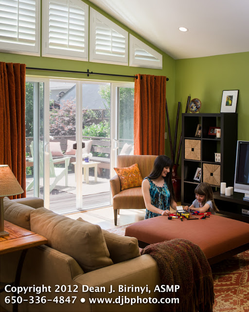 Image of a residential interior with mother and daughter sharing quality time together.