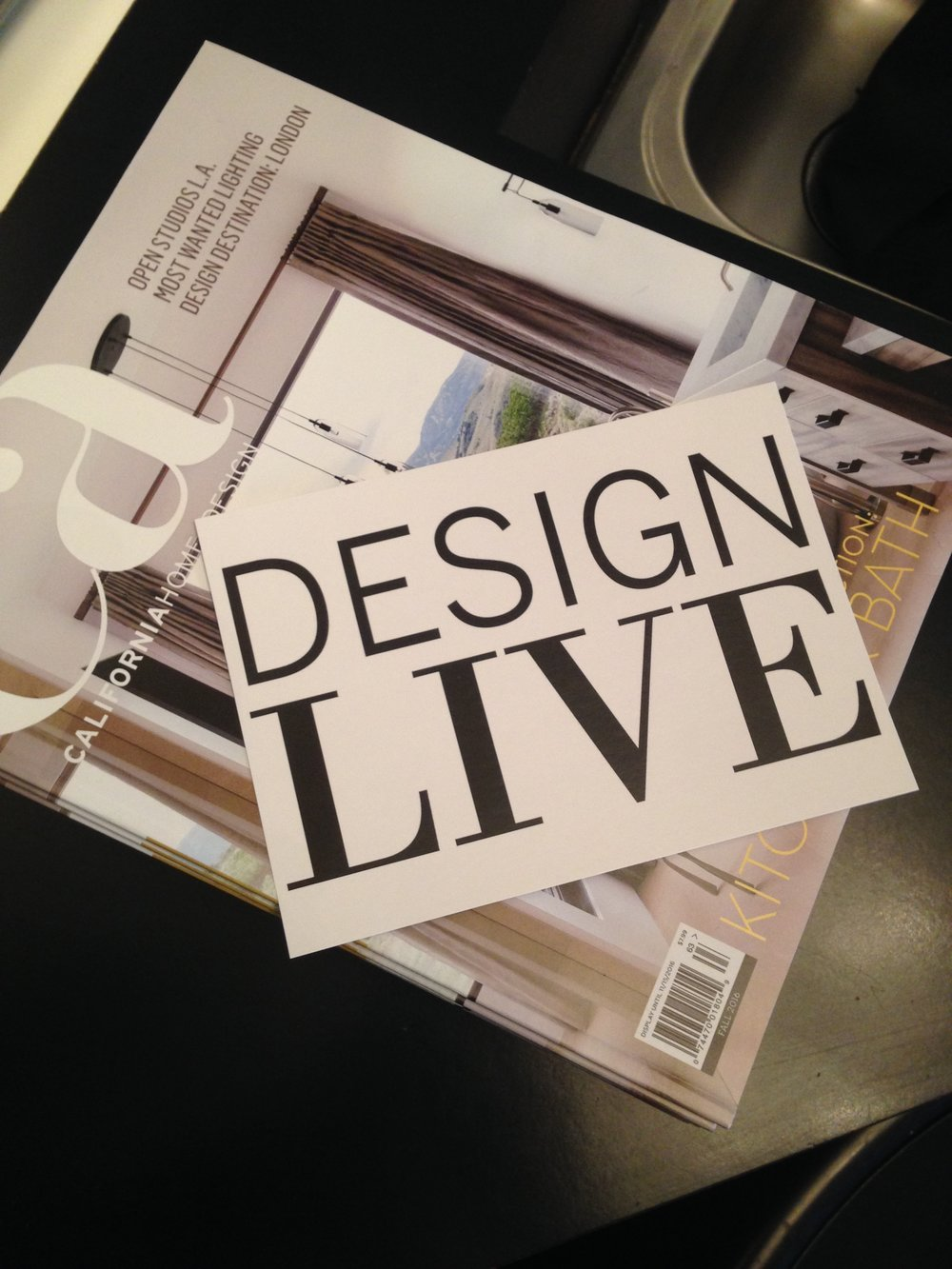 DesignLive sponsored by Califonia Home & Design and Organized by Coupar Consulting