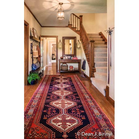 Residential foyer for Lisa Furtado of Lisa Furtado Interiors