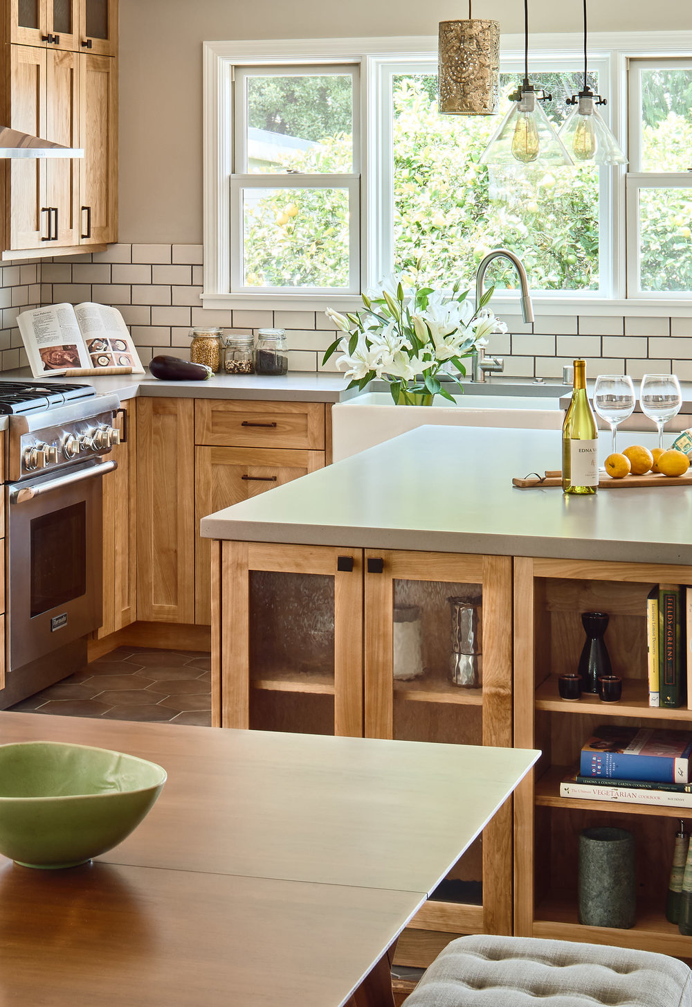 El Cerrito Kitchen for Carrie LaMastus by Dean J. Birinyi